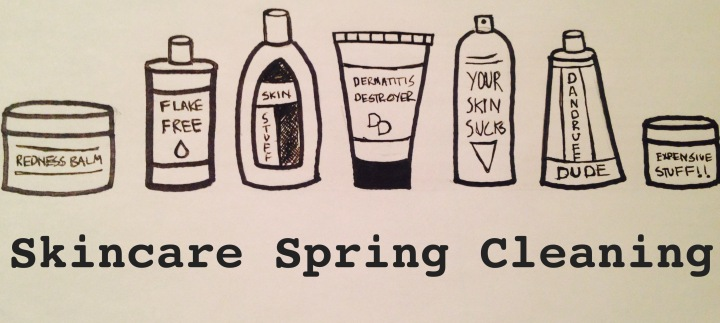 skincare spring cleaning